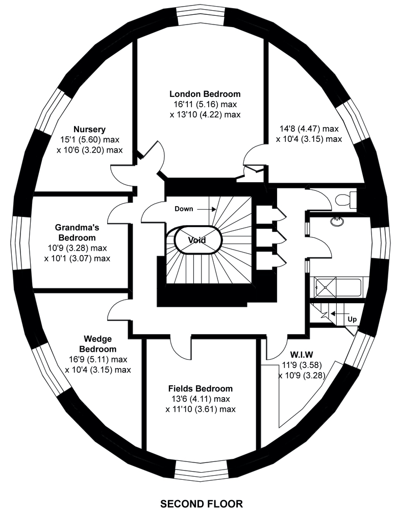 The Round House - Second Floor - Havering-atte-Bower